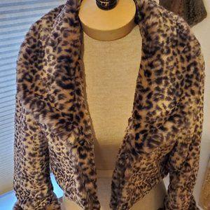 Vintage leopard bolero jacket